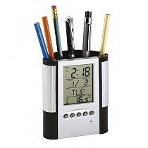 Будильник-пенал BUTLER с электронным календарем и термометром