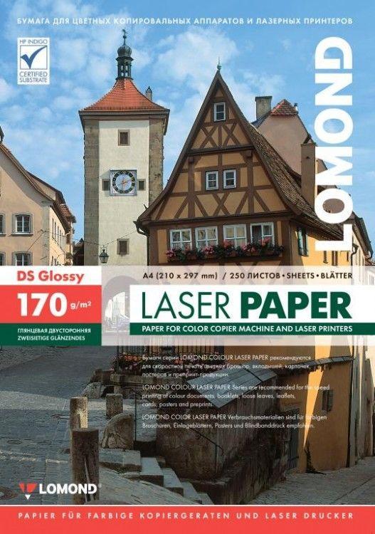 Бумага LOMOND для Лаз. Печати ГЛ Двух А4/250/170г 310241 laser