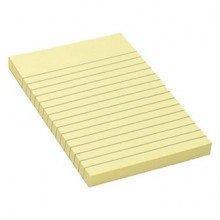 Бумага для заметок 150x100мм, 100л, разлинованная, самоклеющаяся, желтая, фото 2