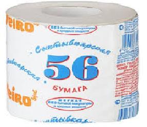 """Бумага туалетная """"56 метров"""""""