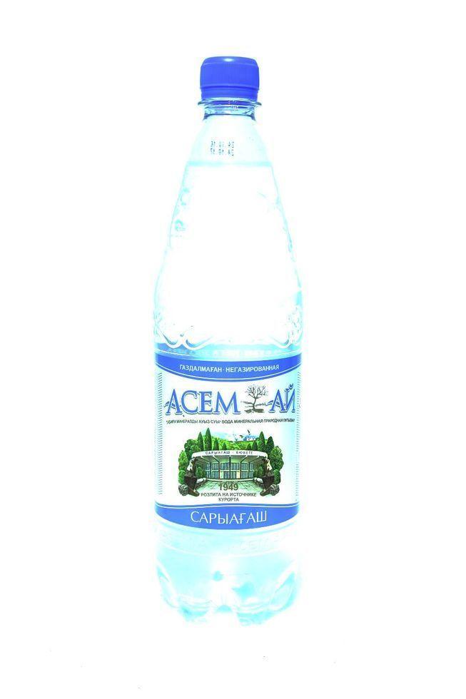 Вода Асемай 1л. с газом