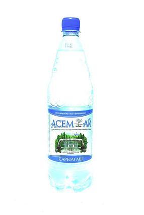 Вода Асемай 1л. с газом, фото 2