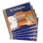Диск DVD-R Verbatim Gold Archival-Printable