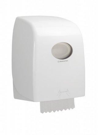 Диспенсер для рулонных полотенец Aquarius No Touch белый