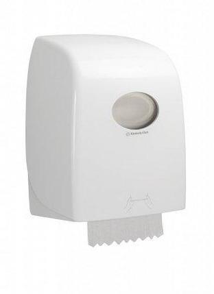 Диспенсер для рулонных полотенец Aquarius No Touch белый, фото 2