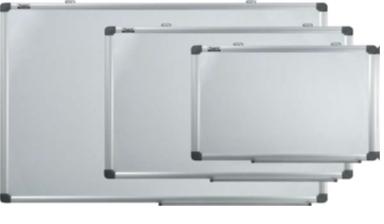 Доска магнитно-маркерная 100x200см, 2-х сторонняя белая, алюминиевая рамка