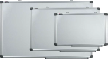 Доска магнитно-маркерная 100x200см, 2-х сторонняя белая, алюминиевая рамка, фото 2