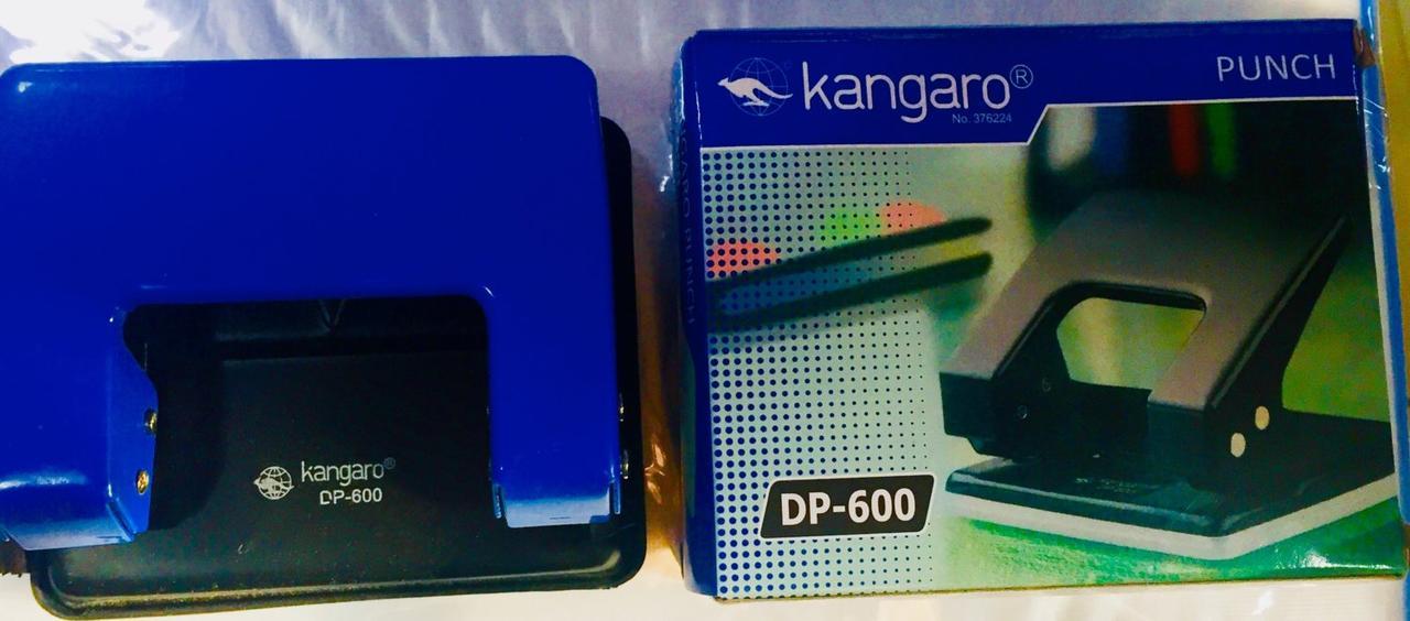 Дырокол на 2 отверстия, Kangaro DP-600. 1/25l