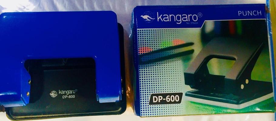 Дырокол на 2 отверстия, Kangaro DP-600. 1/25l, фото 2