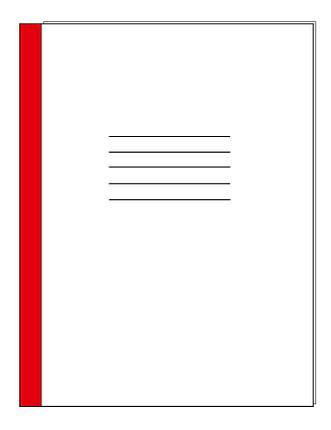 Журнал офисный 96л.клетка (плотная картонная обложка), фото 2