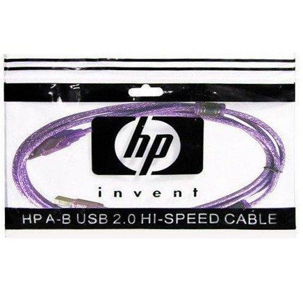 Интерфейсный кабель, A-B, HP Original, Hi-Speed USB 2.0 5 м, фото 2