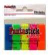 Клеевые закладки . Набор пластиковых самоклеющихся цветных «флажков». 5 цветов х 25 штук. Размер 12 х 45 мм.