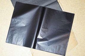Копировальная бумага. Формат А4. В пачке - 100 листов. Цвет - черный.