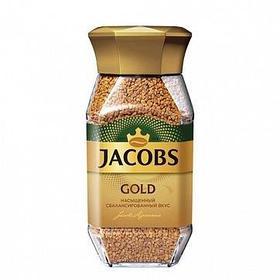 Кофе растворимый Jacobs Gold, 95 гр, стеклянная банка