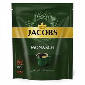 Кофе растворимый Jacobs Monarch, 190 гр, вакуумная упаковка