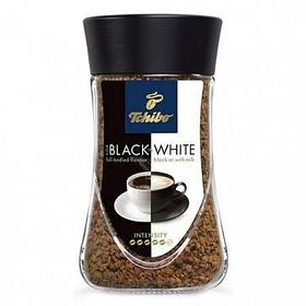 "Кофе растворимый Tchibo ""Black and White"", 200 гр, стеклянная банка"