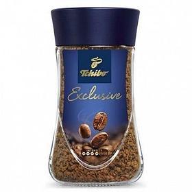 """Кофе растворимый Tchibo """"Exclusive"""", 190 гр, стеклянная банка"""