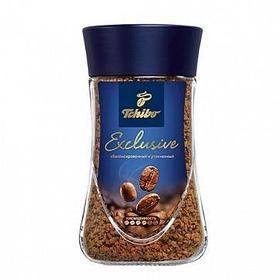 """Кофе растворимый Tchibo """"Exclusive"""", 95 гр, стеклянная банка"""