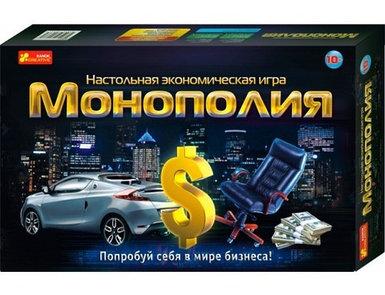 Игра настольная экономическая Ranok Creative «Монополия»