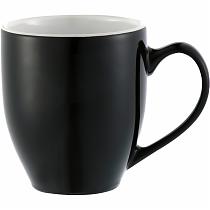 Кружка Sapata, 450мл, чёрная/белая