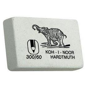 "Ластик KOH-I-NOOR ""Elephant 60"" белый"