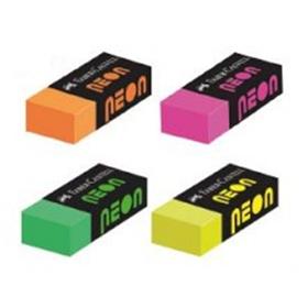Ластик для стирания простых/цветных карандашей, NEON Faber-Castell