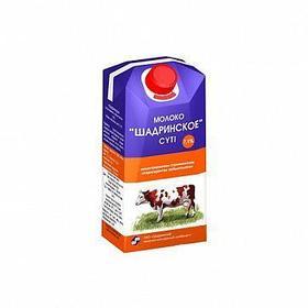 Молоко Шадринское, 300 мл, 7,1%, тетрапакет