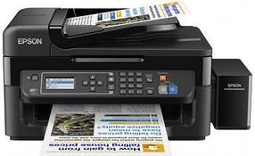 МФУ цветной, струйный фабрика печати Epson Styles L566 C11CE53403 4-х Цветное МФУ факс WI-FI