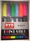 Набор маркеров 6 цветов, восковые, выкручивающиеся
