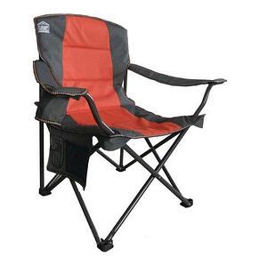 Кресло складное туристическое со спинкой и подлокотниками Camp Master (Зеленый)