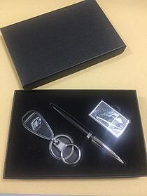 Набор подарочный N206 (ручка, брелок, зажигалка )