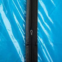 Чехол прозрачный на молнии «Доляна» для хранения одежды (95х60 см), фото 2