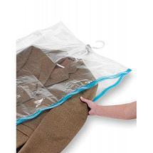 Вакуумный пакет с вешалкой PRIMA DOPO для хранения одежды (145х70 см), фото 2