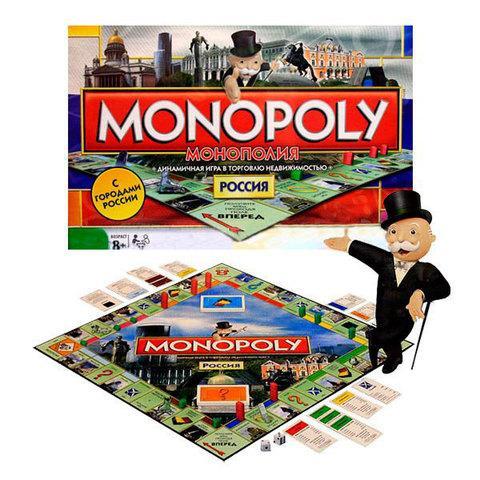 Игра настольная экономическая «Монополия» Россия