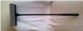 Окномойка 25см. + пластмассовая рукоятка 50 см