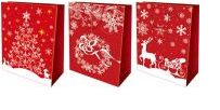 Пакет бумажный подарочный, Размер 18 х 21 х 8,5 см, Упак. 12/360/720, фото 2