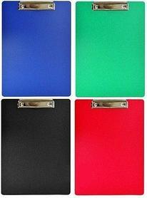 Папка-планшет А4, с верхним зажимом Ассорти