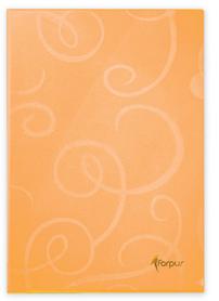 Папка-уголок  BAROCCO, А-4 80мк, оранжевый