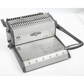 Переплетная машина 2В1 TPPS X5 [пластик 25/450листов. металл 3:1 25/120листов.]