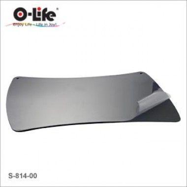 Покрытие настольное 48x61см, черное, с прозрачным верхом O-Life