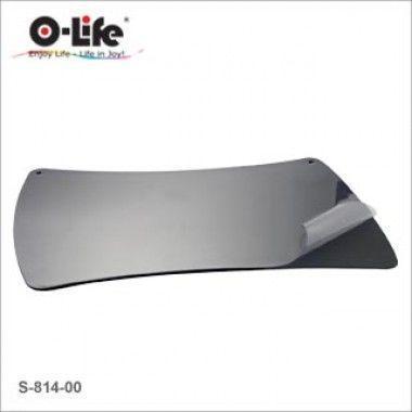 Покрытие настольное 48x61см, черное, с прозрачным верхом O-Life, фото 2