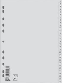 Разделитель пластиковый, по датам,  1-31
