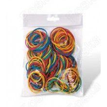 Резинки для денег, 10см, 100гр, цветные Foska