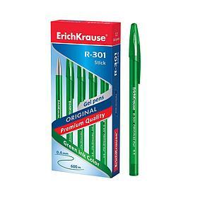 Ручка гелевая ErichKrause® R-301 Original Gel 0.5, цвет чернил зеленый