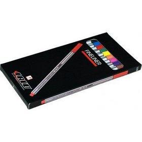 Ручка капиллярная Laco Liner 0.4мм, 10шт, набор.