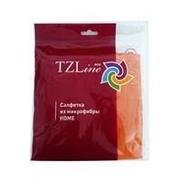 Салфетка из микрофибры HOME 35*35 см 1шт