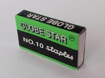 Скобы Globе Star для степлера №10, 1-15л, 1000шт, оцинкованные