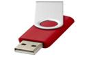 Стандартный поворотный USB-флеш-накопитель 8 ГБ. цвет красный