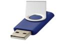 Стандартный поворотный USB-флеш-накопитель 8 ГБ. цвет Синий