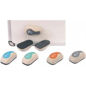 """Стерка для маркерной доски 120x64мм, магнитная, форма """"Мышки"""""""